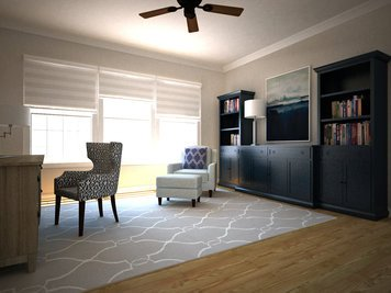 Online design Transitional Home/Small Office by Dragana V. thumbnail