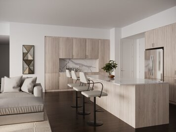 Online design Contemporary Combined Living/Dining by Theresa W. thumbnail