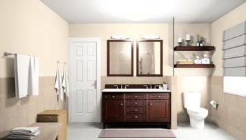 Online design Traditional Bathroom by Noraina Aina M. thumbnail