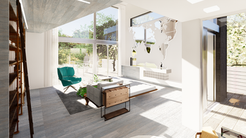 Online design Modern Living Room by Nedith A. thumbnail