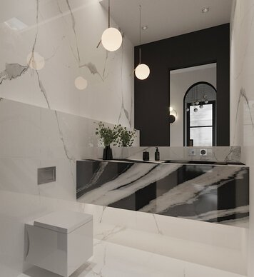 Online design Contemporary Bathroom by Nathalie I. thumbnail