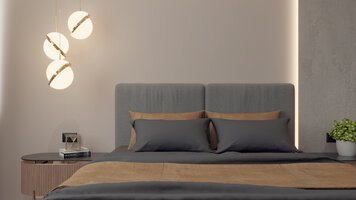 Online design Modern Bedroom by Mihajlo S. thumbnail