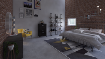 Online design Eclectic Bedroom by Leah M. thumbnail