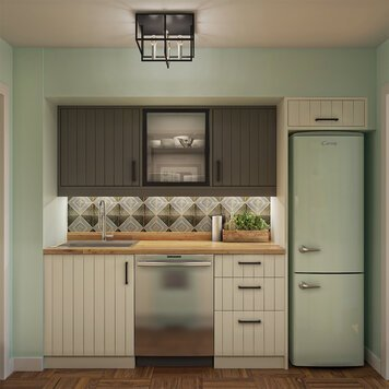 Online design Modern Kitchen by Iulia B. thumbnail
