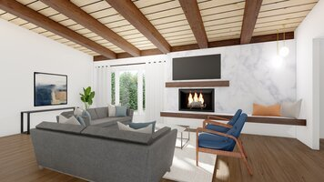 Online design Contemporary Living Room by Ryley B. thumbnail