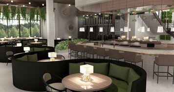 Online design Modern Dining Room by Nouchka S. thumbnail