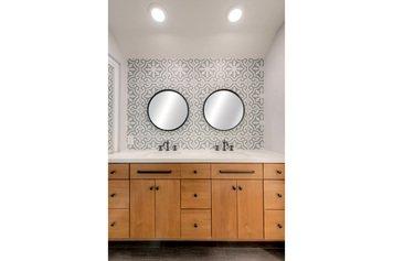 Online design Transitional Bathroom by Krista M. thumbnail