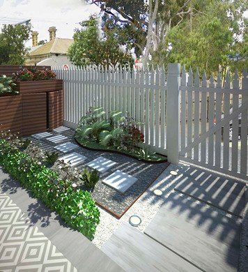 Online design Transitional Patio by Marina S. thumbnail