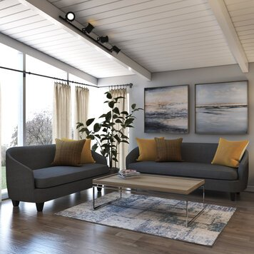 Online design Contemporary Living Room by Shofy D. thumbnail