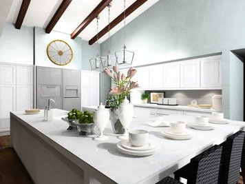 Online design Contemporary Kitchen by Noraina Aina M. thumbnail