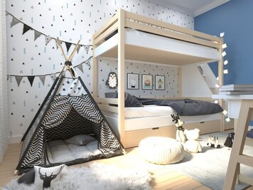 Online design Modern Kids Room by Aida A. thumbnail