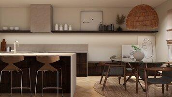 Online design Modern Kitchen by Martyna C. thumbnail