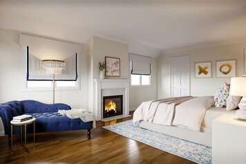 Online design Transitional Bedroom by Theresa W. thumbnail