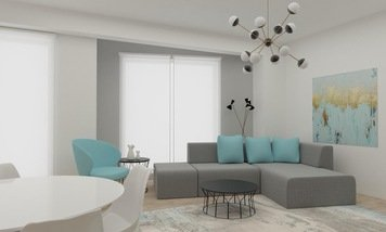 Online design Contemporary Living Room by Ioana A. thumbnail