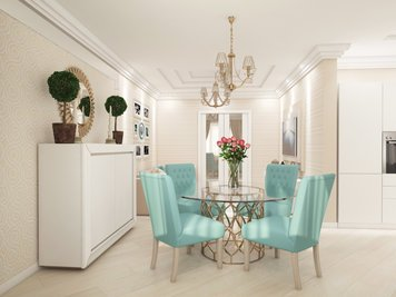 Online design Transitional Living Room by Luba K. thumbnail