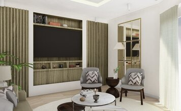 Online design Contemporary Living Room by Ana L. thumbnail