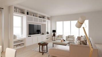 Online design Modern Living Room by Lauren A. thumbnail