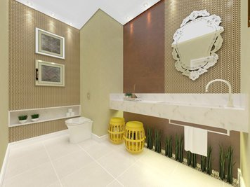 Online design Glamorous Bathroom by Luciana N. thumbnail
