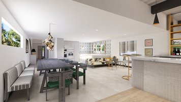 Online design Contemporary Dining Room by Lauren B. thumbnail