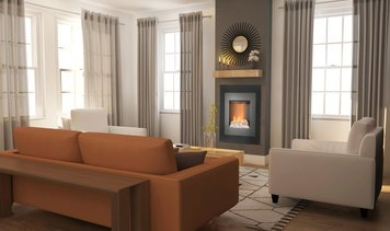 Online design Contemporary Living Room by Zena A. thumbnail