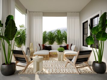 Online design Eclectic Patio by Drew F. thumbnail