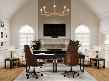 Online design Transitional Home/Small Office by Aida A. thumbnail