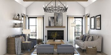 Online design Country/Cottage Living Room by Shofy D. thumbnail