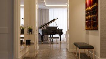 Online design Glamorous Hallway/Entry by Mladen C thumbnail