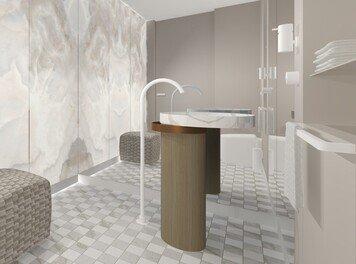 Online design Glamorous Bathroom by Agata M. thumbnail