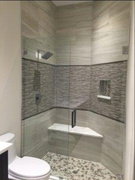 Online design Contemporary Bathroom by Amanda K. thumbnail