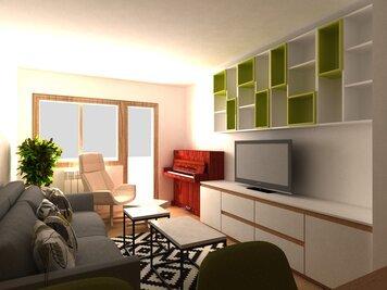 Online design Modern Living Room by Dragana V. thumbnail
