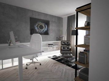 Online design Contemporary Home/Small Office by Dominika Z. thumbnail