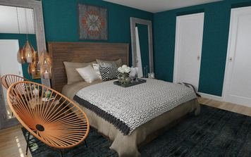 Online design Eclectic Bedroom by Brianna S. thumbnail