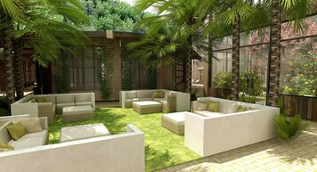 Online design Contemporary Patio by Nouchka S. thumbnail