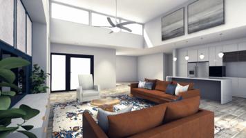 Online design Modern Living Room by Camila C. thumbnail