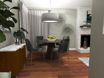 Online design Contemporary Dining Room by Jatnna M. thumbnail