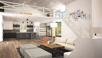 Online design Country/Cottage Living Room by Hannah C. thumbnail