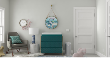 Online design Transitional Nursery by Ebere O. thumbnail
