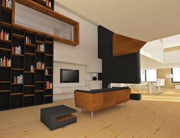 Online design Contemporary Living Room by Soha K. thumbnail