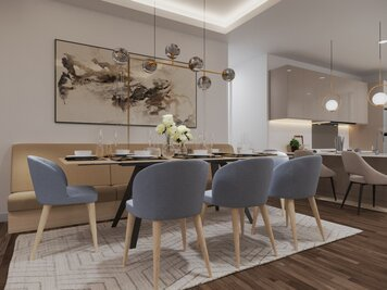 Online design Modern Dining Room by Aida A. thumbnail