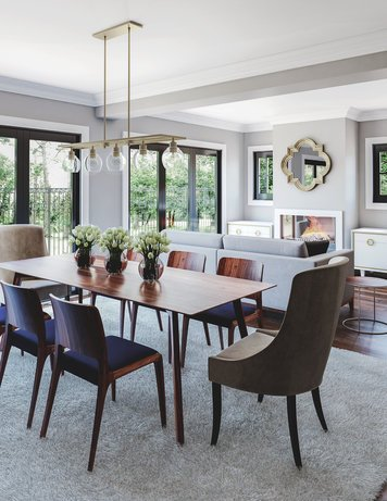 Online design Transitional Combined Living/Dining by João A. thumbnail