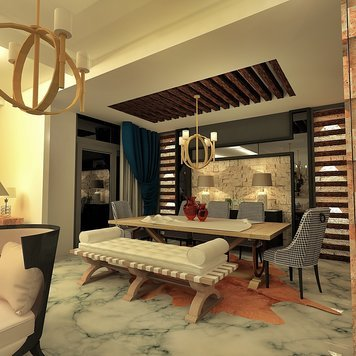 Online design Contemporary Dining Room by Ahmed E. thumbnail