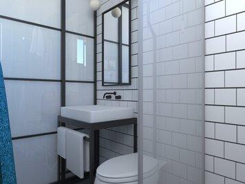 Online design Eclectic Bathroom by Eleni M. thumbnail