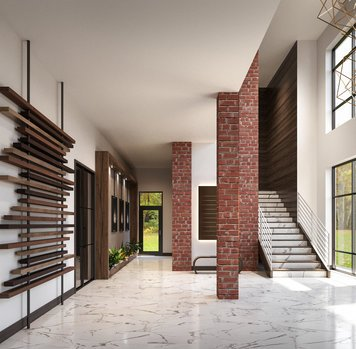 Online design Transitional Hallway/Entry by Wanda P. thumbnail