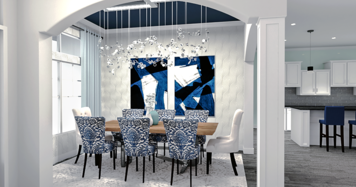 Online design Transitional Dining Room by Camila C. thumbnail