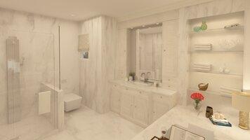 Online design Traditional Bathroom by Salma o. thumbnail