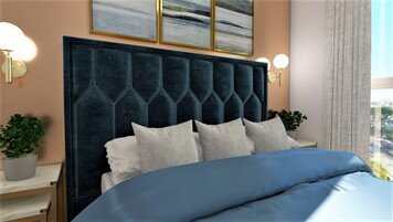 Online design Modern Bedroom by Chante F. thumbnail