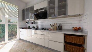Online design Modern Kitchen by Pratiksha K. thumbnail