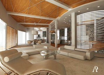 Online design Contemporary Living Room by Andrej R. thumbnail