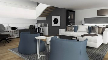 Online design Contemporary Living Room by Selma A. thumbnail